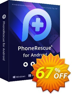 Get PhoneRescue for Android - family license 67% OFF coupon code