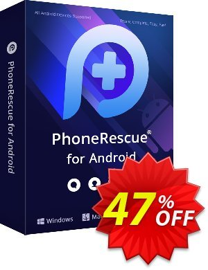 PhoneRescue for Android Coupon, discount PhoneRescue for Android Hottest promo code 2020. Promotion: awful discounts code of PhoneRescue for Android 2020