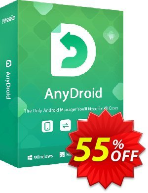 AnyTrans for Android Lifetime Coupon discount 30% OFF AnyTrans for Android Lifetime, verified. Promotion: Super discount code of AnyTrans for Android Lifetime, tested & approved