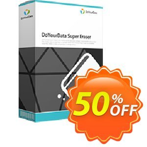 Super Eraser for Mac Business Lifetime License Coupon, discount DoYourData recovery coupon (45047). Promotion: DoYourData recovery software coupon code