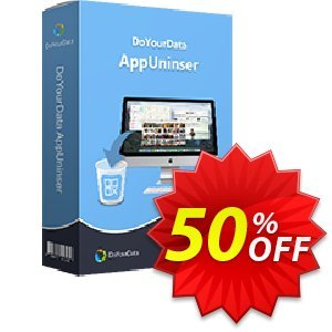 DoYourData MacUninstaller Coupon, discount MACSHARE. Promotion: DoYourData recovery software coupon code
