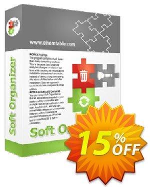 Soft Organizer - Single Computer License Coupon, discount 30% OFF Reg Organizer. Promotion: