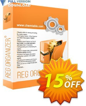 Reg Organizer - Company License discount coupon 30% OFF Reg Organizer -