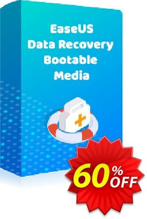 EaseUS Data Recovery Bootable Media Coupon discount 50% OFF EaseUS Data Recovery Bootable Media, verified. Promotion: Wonderful promotions code of EaseUS Data Recovery Bootable Media, tested & approved