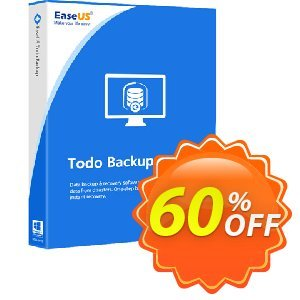 EaseUS Todo Backup Technician (2 years) Coupon discount 40% OFF EaseUS Todo Backup Technician (2 years), verified. Promotion: Wonderful promotions code of EaseUS Todo Backup Technician (2 years), tested & approved