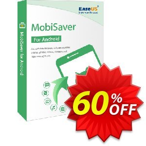 EaseUS MobiSaver for Android discount coupon 40% OFF EaseUS MobiSaver for Android, verified - Wonderful promotions code of EaseUS MobiSaver for Android, tested & approved