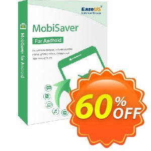 Get EaseUS MobiSaver for Android For Business 40% OFF coupon code