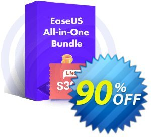 EaseUS All-In-One Bundle Lifetime License Coupon discount 75% OFF EaseUS All-In-One Bundle Lifetime License, verified