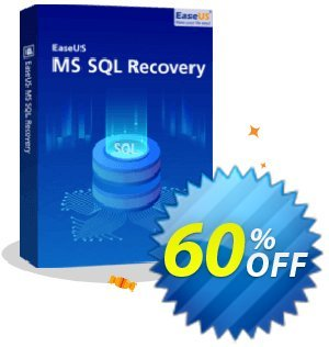 EaseUS MS SQL Recovery (1 year) 優惠券,折扣碼 40% OFF EaseUS MS SQL Recovery (1 year), verified,促銷代碼: Wonderful promotions code of EaseUS MS SQL Recovery (1 year), tested & approved