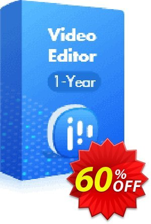 EaseUS Video Editor (1-Year) discount coupon 60% OFF EaseUS Video Editor (1-Year License), verified - Wonderful promotions code of EaseUS Video Editor (1-Year License), tested & approved