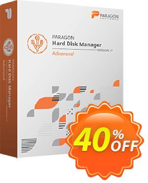 Paragon Hard Disk Manager Advanced (3 PCs License) discount coupon 5% OFF Paragon Hard Disk Manager, verified - Impressive promotions code of Paragon Hard Disk Manager, tested & approved