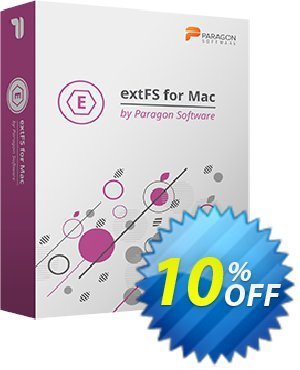 Paragon extFS for Mac 優惠券,折扣碼 10% OFF Paragon extFS for Mac, verified,促銷代碼: Impressive promotions code of Paragon extFS for Mac, tested & approved