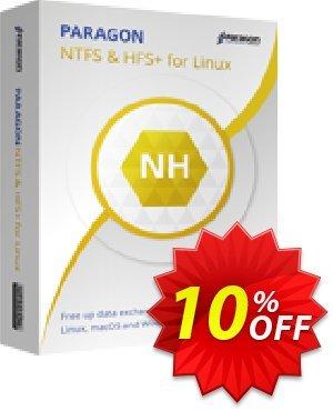 Paragon Microsoft NTFS for Linux Coupon discount 10% OFF Paragon Microsoft NTFS for Linux, verified