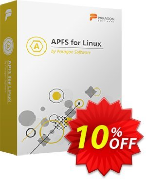 Paragon APFS for Linux 優惠券,折扣碼 10% OFF Paragon APFS for Linux, verified,促銷代碼: Impressive promotions code of Paragon APFS for Linux, tested & approved