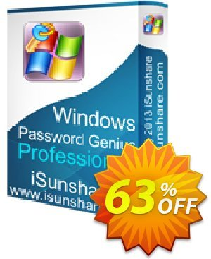 iSunshare Windows Password Genius Professional Coupon, discount iSunshare discount (47025). Promotion: iSunshare discount coupons