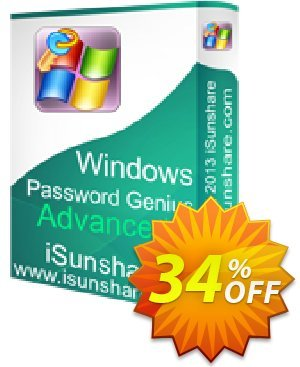 iSunshare Windows Password Genius Advanced割引コード・iSunshare discount (47025) キャンペーン:iSunshare discount coupons