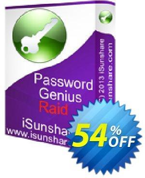 iSunshare Password Genius Raid Coupon, discount iSunshare discount (47025). Promotion: iSunshare discount coupons
