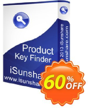 iSunshare Product Key Finder Coupon discount iSunshare discount (47025). Promotion: iSunshare discount coupons
