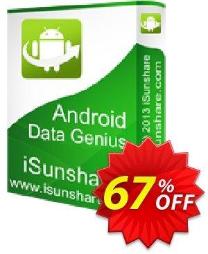 iSunshare Android Data Genius Coupon, discount iSunshare discount (47025). Promotion: iSunshare discount coupons