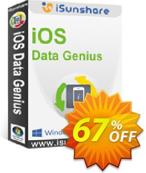 iSunshare iOS Data Genius Coupon, discount iSunshare discount (47025). Promotion: iSunshare discount coupons