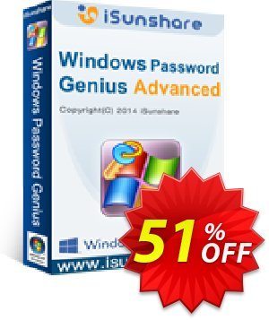 iSunshare Windows Password Genius for Mac Advanced Coupon, discount iSunshare discount (47025). Promotion: iSunshare discount coupons iSunshare Windows Password Genius