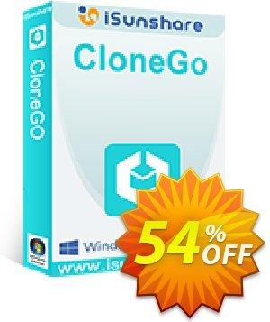 iSunshare CloneGo Coupon discount iSunshare CloneGo discount (47025). Promotion: iSunshare CloneGo coupons