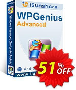 iSunshare WPGenius Advanced Coupon discount iSunshare WPGenius discount (47025). Promotion: iSunshare WPGenius Advanced