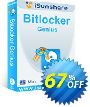 iSunshare BitLocker Genius Coupon, discount iSunshare discount (47025). Promotion: iSunshare BitLocker coupons