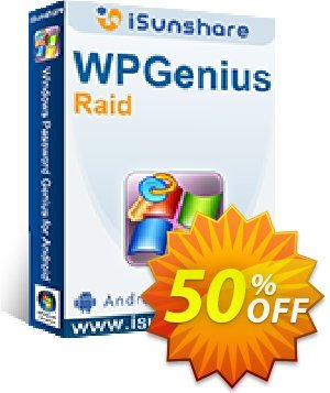 iSunshare WPGenius Raid Coupon discount iSunshare WPGenius Raid discount (47025). Promotion: iSunshare WPGenius Raid