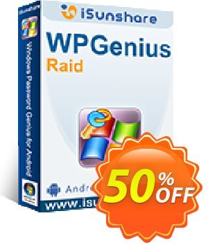 iSunshare WPGenius Raid discount coupon iSunshare WPGenius Raid discount (47025) - iSunshare WPGenius Raid