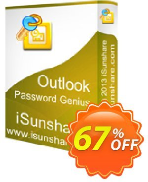 iSunshare Outlook Password Genius Coupon, discount iSunshare discount (47025). Promotion: iSunshare discount coupons