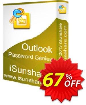 iSunshare Outlook Password Genius Coupon, discount iSunshare discount (47025). Promotion: iSunshare discount coupons