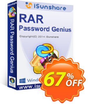 iSunshare RAR Password Genius 優惠券,折扣碼 iSunshare discount (47025),促銷代碼: iSunshare discount coupons
