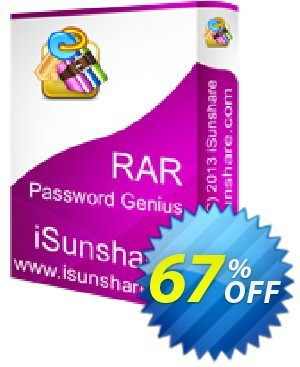 iSunshare RAR Password Genius Coupon, discount iSunshare discount (47025). Promotion: iSunshare discount coupons