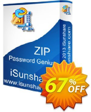 iSunshare ZIP Password Genius Coupon, discount iSunshare discount (47025). Promotion: iSunshare discount coupons