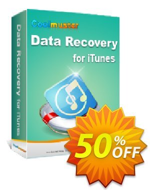 Coolmuster Data Recovery for iTunes Coupon, discount Affiliate 50% OFF. Promotion:
