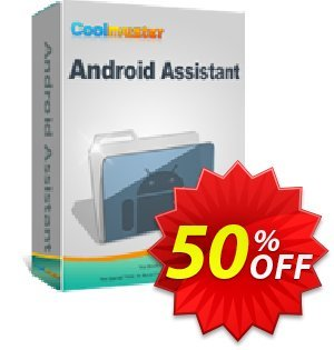 Coolmuster Android Assistant for Mac - 1 Year License(26-30PCs) Coupon, discount 50% off promotion. Promotion: