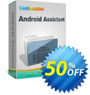 Coolmuster Android Assistant for Mac - Lifetime License(2-5PCs) Coupon, discount 50% off promotion. Promotion: