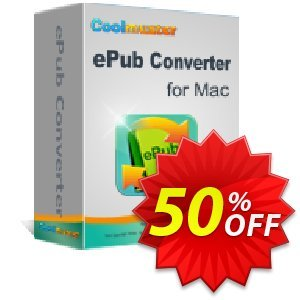 Coolmuster ePub Converter for Mac Coupon, discount Affiliate 50% OFF. Promotion: