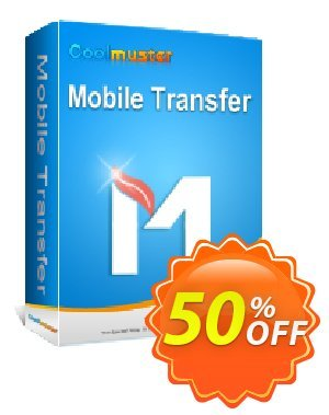 Coolmuster Mobile Transfer - 1 Year License(2-5PCs) Coupon, discount Affiliate 50% OFF. Promotion:
