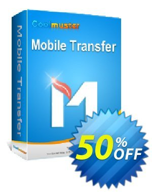 Coolmuster Mobile Transfer - 1 Year License(6-10PCs) Coupon, discount Affiliate 50% OFF. Promotion: