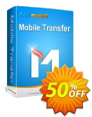 Coolmuster Mobile Transfer - 1 Year License(21-25PCs) Coupon, discount Affiliate 50% OFF. Promotion: