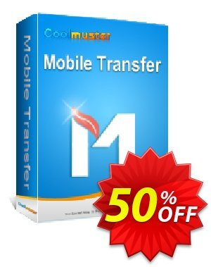 Coolmuster Mobile Transfer - 1 Year License(26-30PCs) Coupon, discount Affiliate 50% OFF. Promotion: