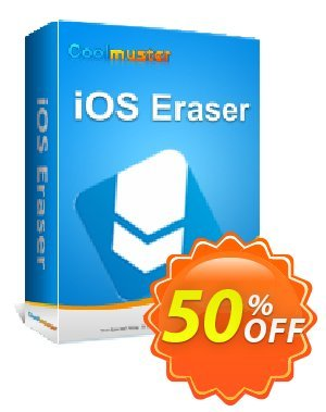 Coolmuster iOS Eraser - Lifetime License(6-10PCs) Coupon, discount Affiliate 50% OFF. Promotion: