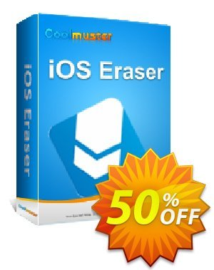 Coolmuster iOS Eraser - 1 Year License(1 PC) Coupon, discount Affiliate 50% OFF. Promotion: