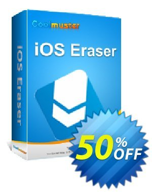 Coolmuster iOS Eraser - 1 Year License(6-10PCs) Coupon, discount Affiliate 50% OFF. Promotion: