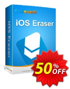 Coolmuster iOS Eraser - 1 Year License(11-15PCs) Coupon, discount Affiliate 50% OFF. Promotion: