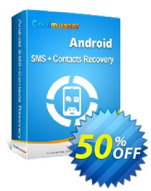 Coolmuster Android SMS+Contacts Recovery - Lifetime License(9 Devices, 3 PCs) 優惠券,折扣碼 affiliate discount,促銷代碼: