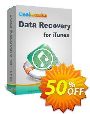 Coolmuster Data Recovery for iTunes (Mac Version) Coupon, discount Affiliate 50% OFF. Promotion: