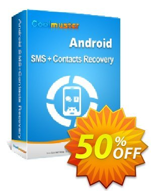 Coolmuster Android SMS+Contacts Recovery - 1 Year License(Unlimited Devices, 1 PC) discount coupon affiliate discount -